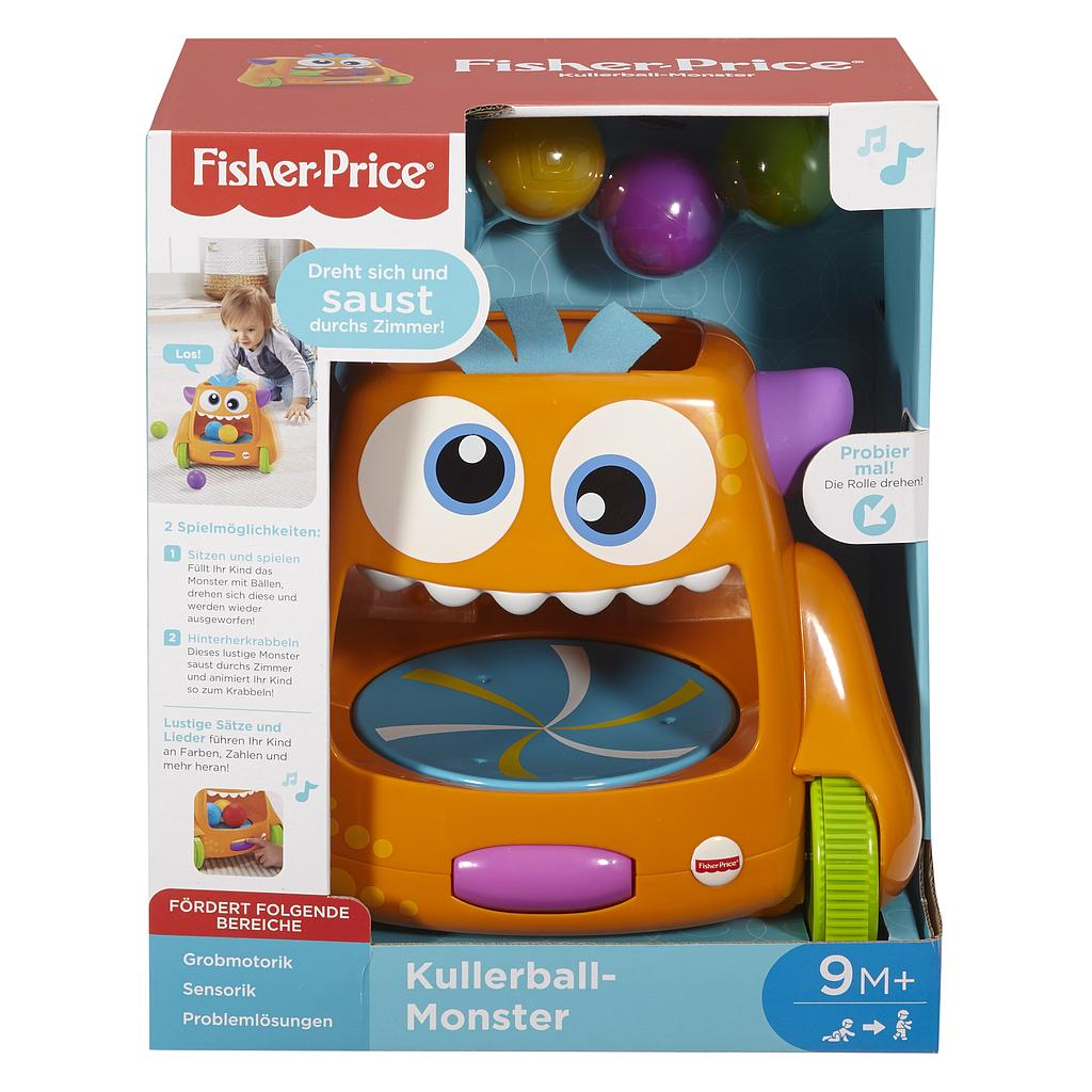 Mattel Fisher-Price FHD53 - Kullerball-Monster