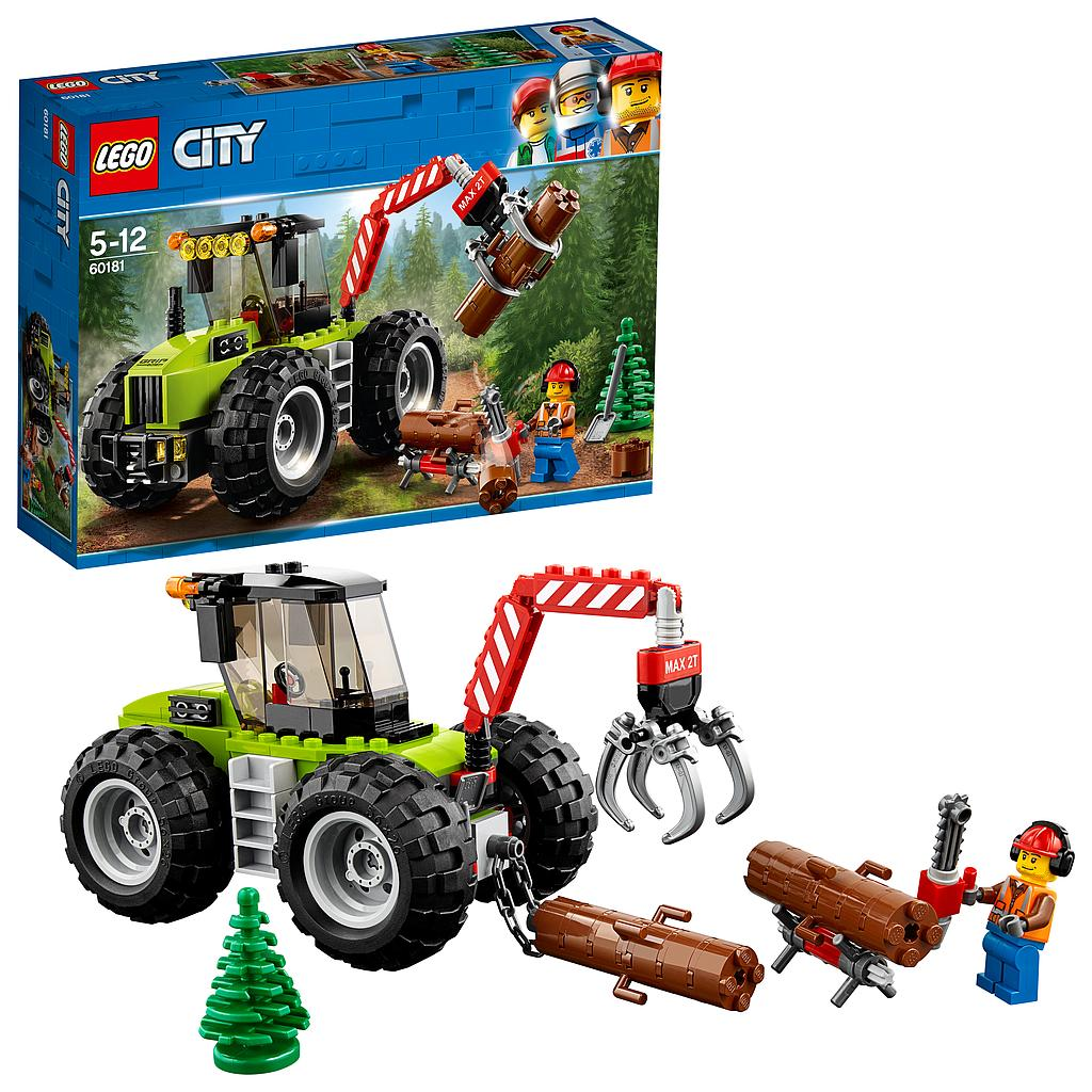 LEGO® City Great Vehicles 60181 - Forsttraktor