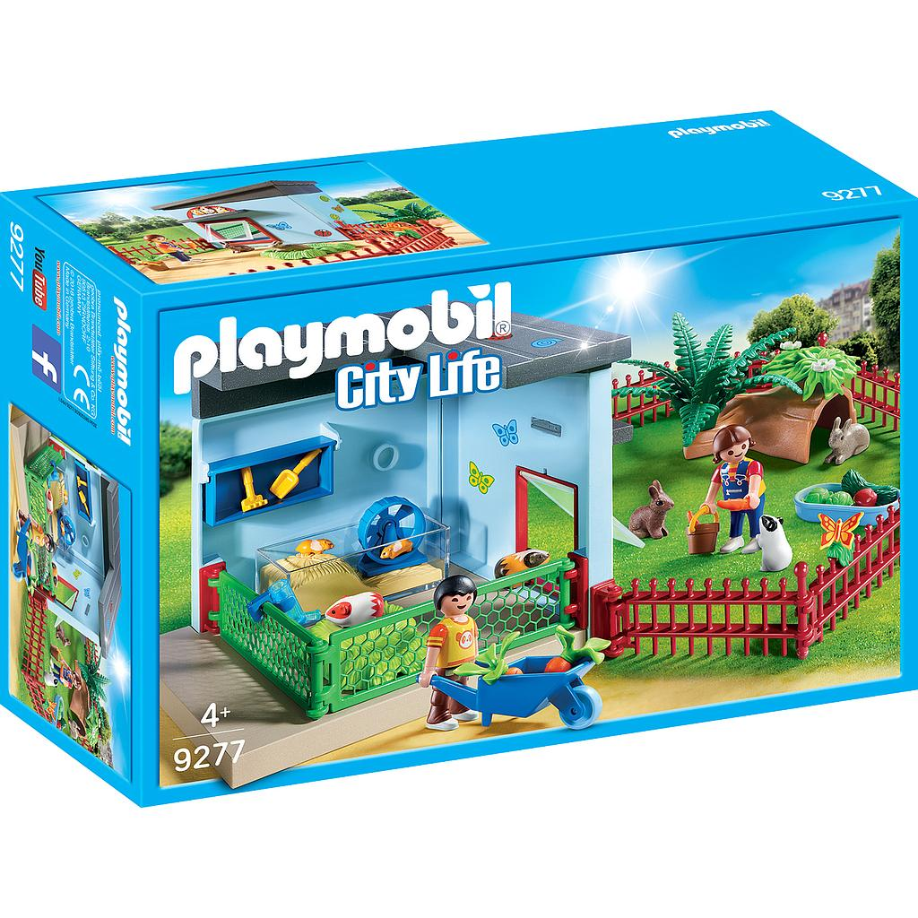 PLAYMOBIL® 9277 - Kleintierpension