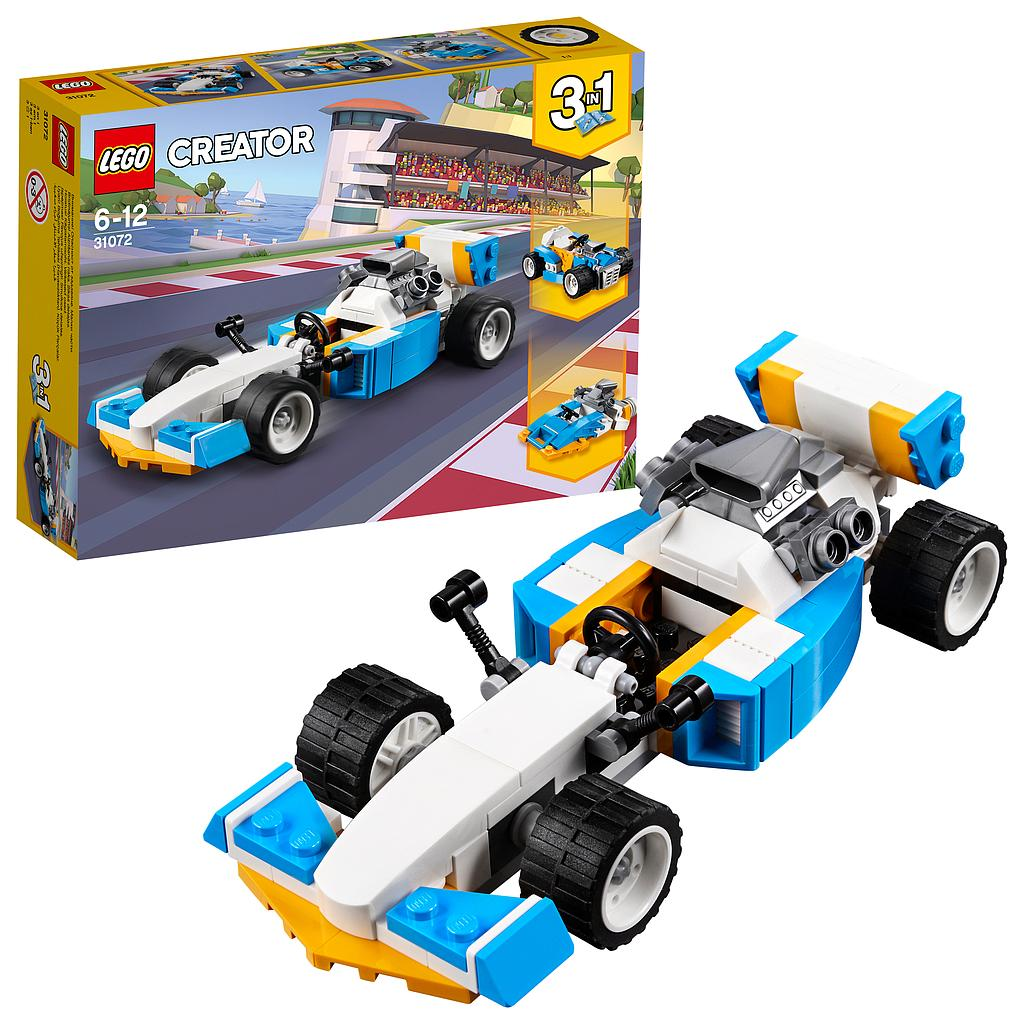 LEGO® Creator Vehicles 31072 - Ultimative Motor-Power