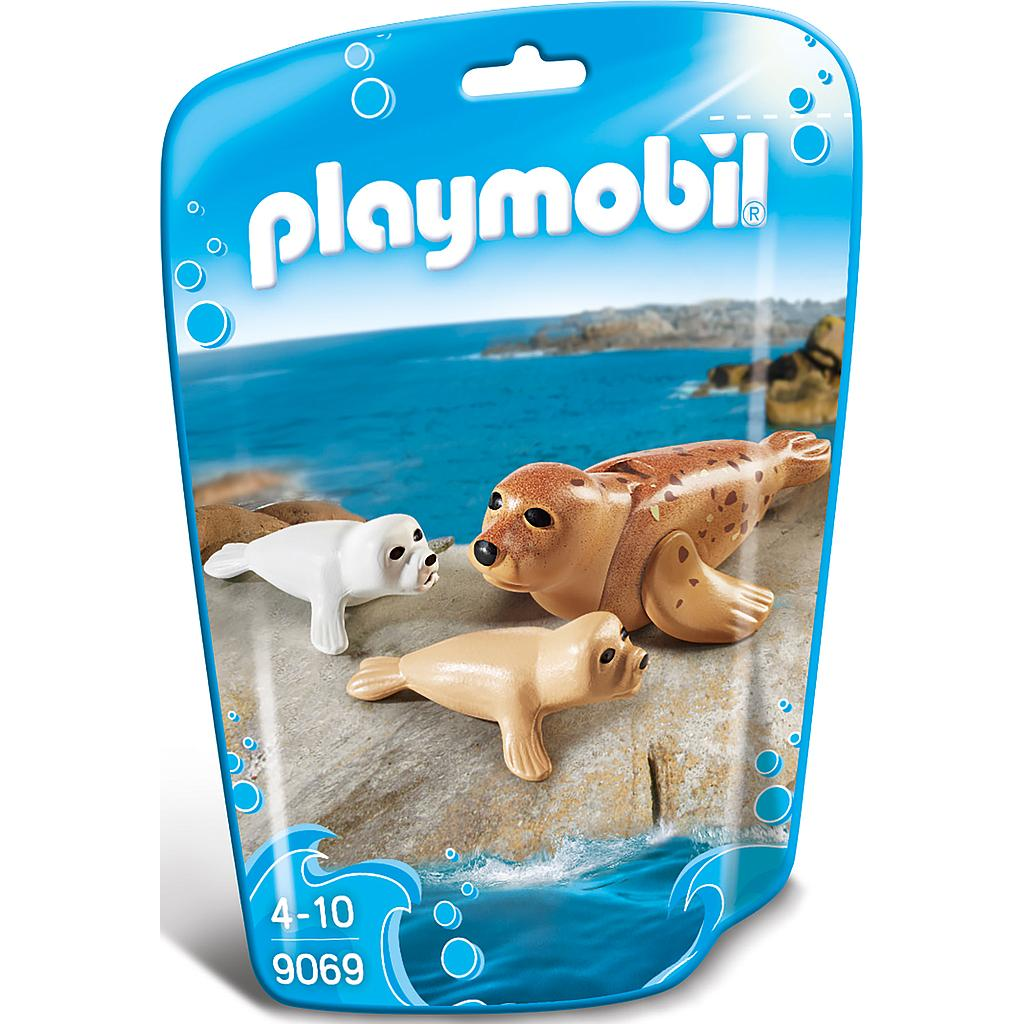 PLAYMOBIL® 9069 - Robbe mit Babys