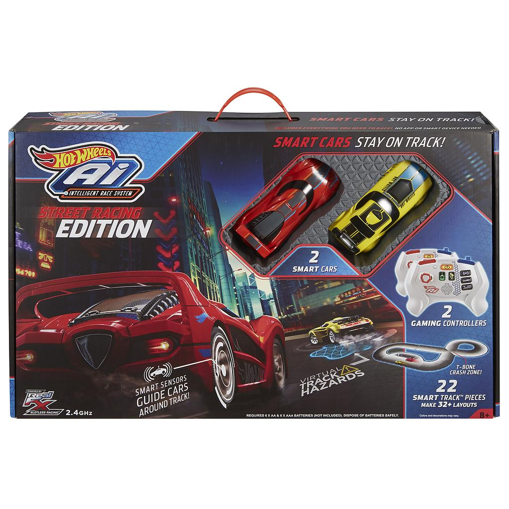 Mattel Hot Wheels FDY09 - Ai Starter Kit 2.0 Street Racing
