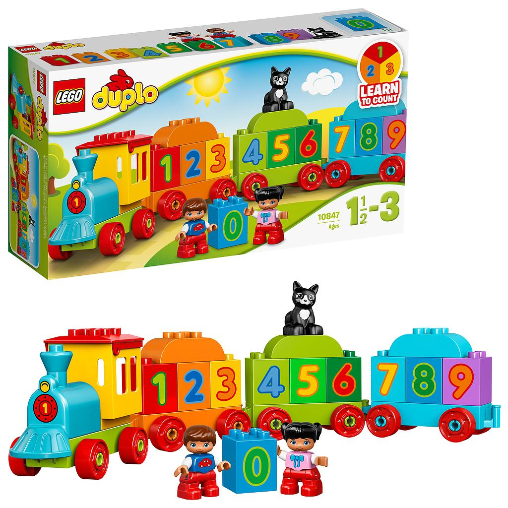 LEGO® DUPLO® My First 10847 - Zahlenzug