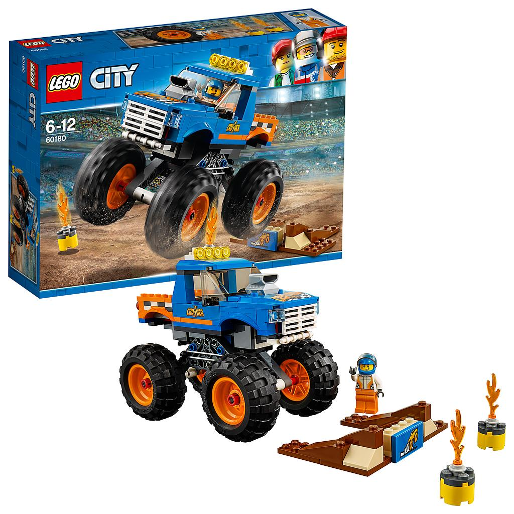 LEGO® City Great Vehicles 60180 - Monster-Truck