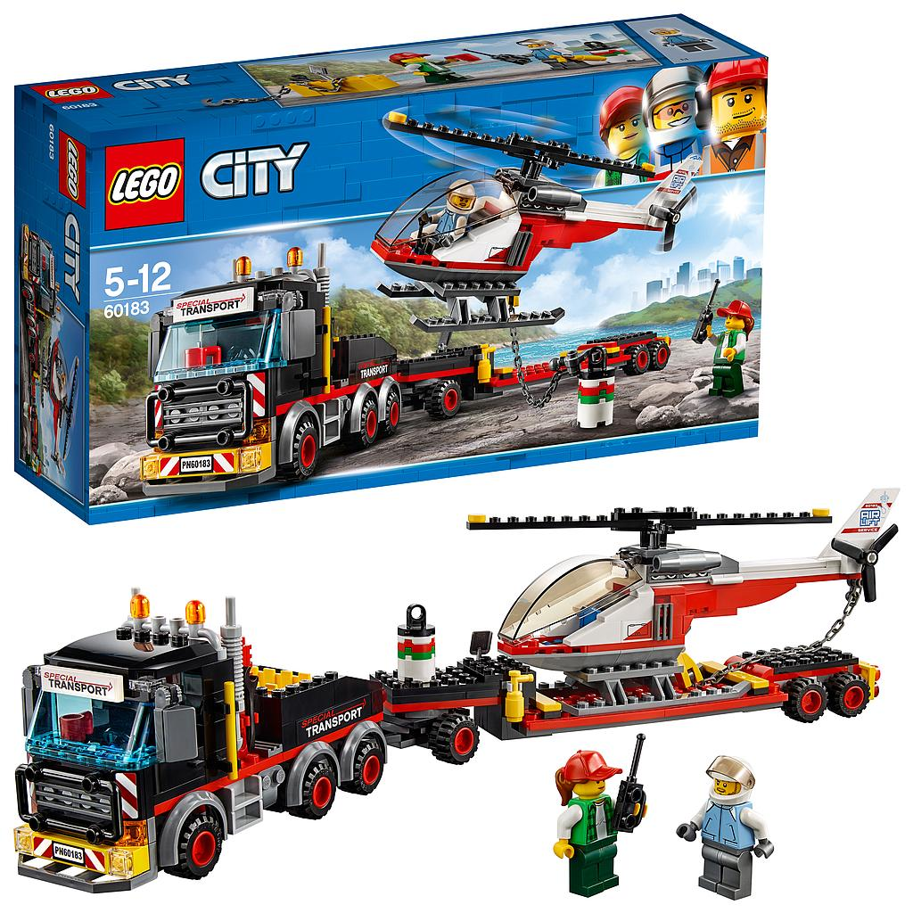 LEGO® City Great Vehicles 60183 - Schwerlasttransporter