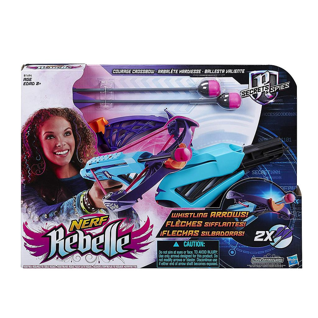 Hasbro B1694EU4 - Nerf Rebelle Lightning Bolt Crossbow