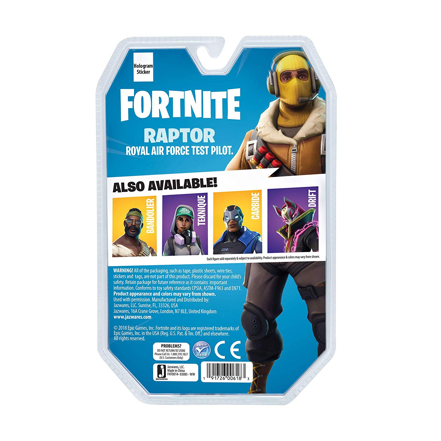 Fortnite Solo Modus Figur Raptor