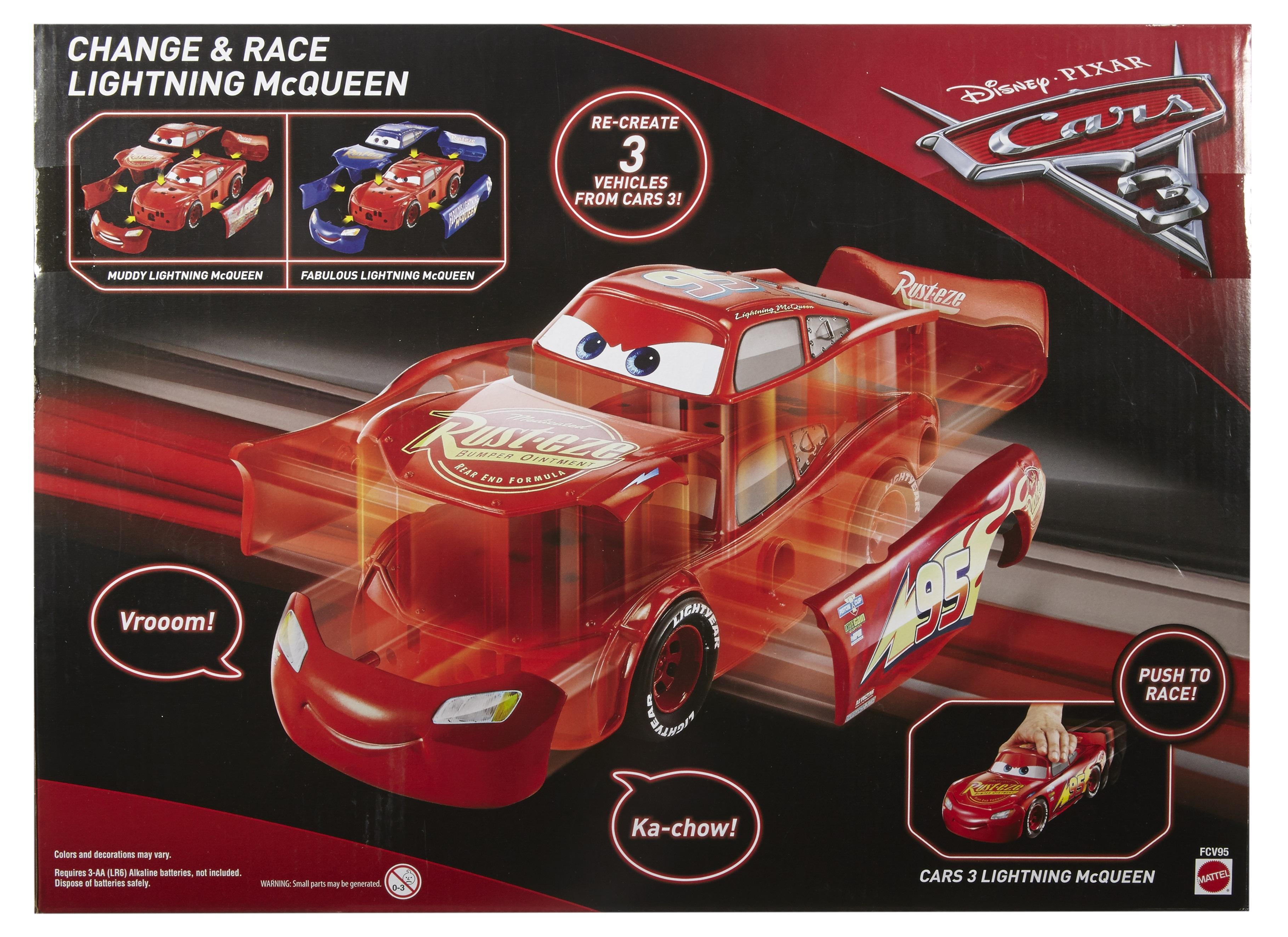 Mattel Disney Cars Fcv95 Disney Cars 3 3 In 1 Rennfahrzeug