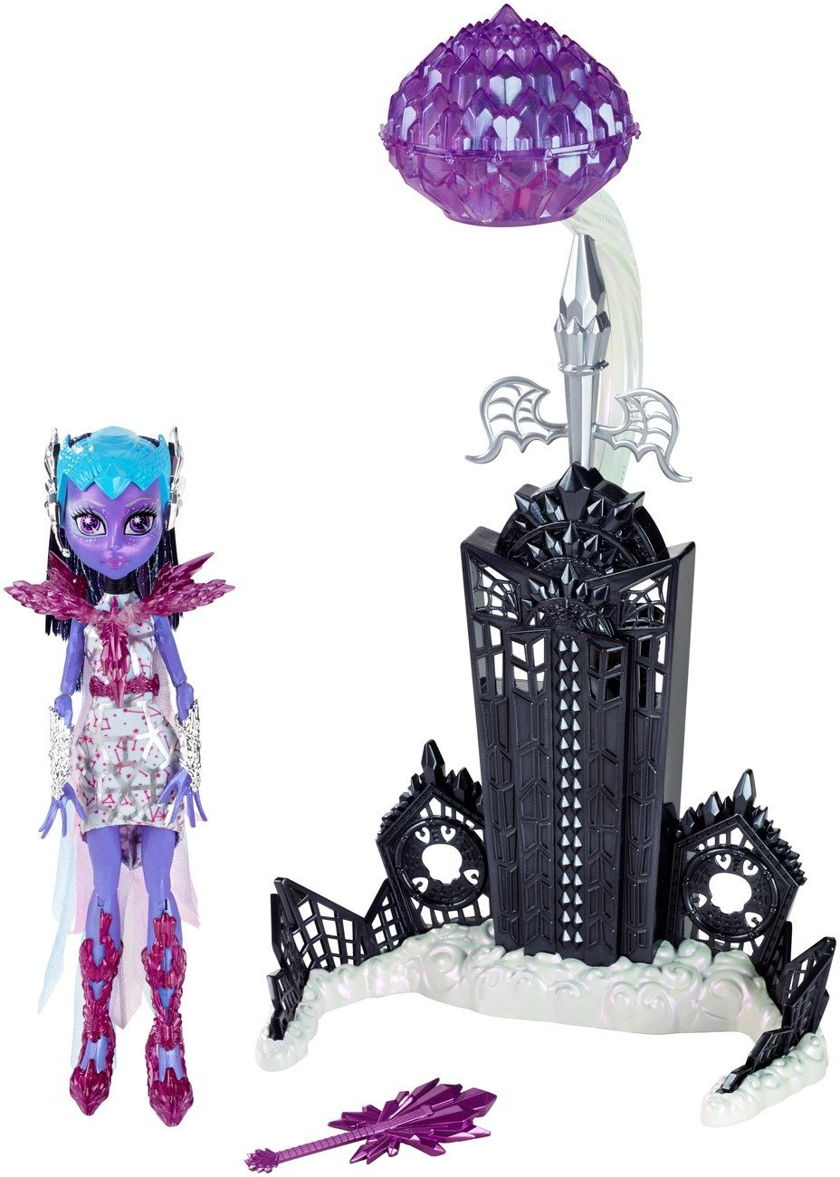 Mattel Monster High CHW58 - Buh York, Kometen-Schwebestation und Astranova