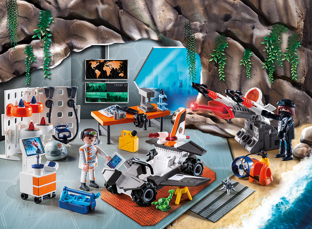 "PLAYMOBIL® 9263 - Adventskalender ""Spy Team Werkstatt"""