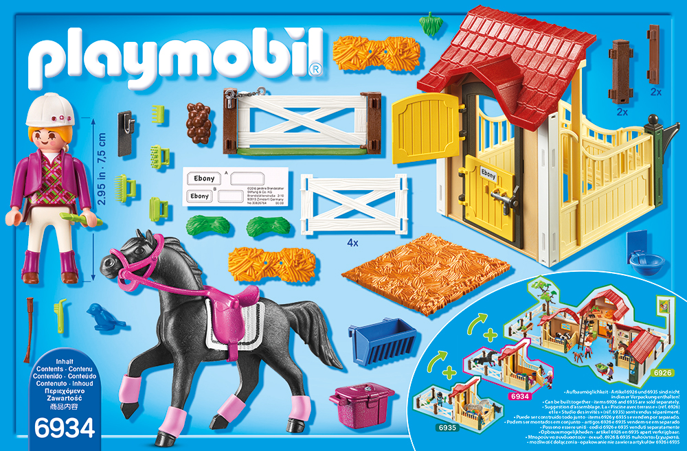 "PLAYMOBIL® 6934 - Pferdebox ""Araber"""