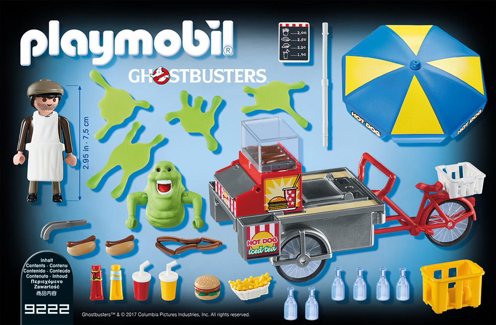 PLAYMOBIL® 9222 - Slimer mit Hot Dog Stand