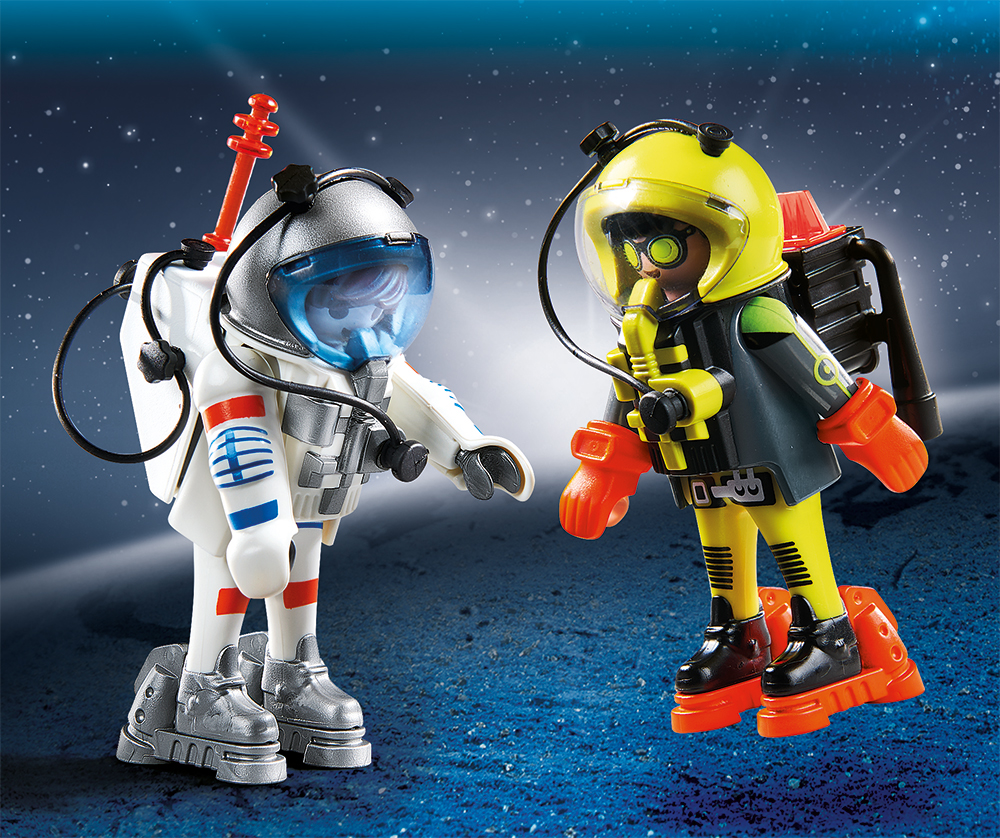 PLAYMOBIL® 9448 - Duo Pack Space Heroes
